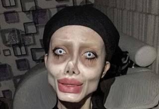 В Иране арестовали… двойника-монстра Анджелины Джоли (18+)