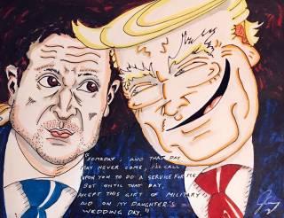 Знаменитый американский комик посвятил карикатуру встрече Зеленского и Трампа