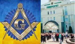 Одесский преподаватель рассказывает студентам про масонскую Украину