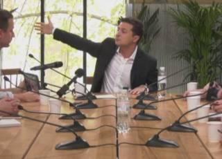 Зеленский предложил жителям оккупированных территорий разговаривать с телевизором, «как Светлаков»