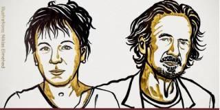 Стали известны лауреаты первой за 76 лет «двойной» Нобелевской премии по литературе