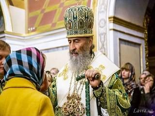 Митрополит Онуфрий рассказал, в чем подвиг святых Киево-Печерской лавры