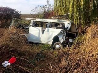 Под Черновцами при столкновении автобусов пострадали взрослые и дети