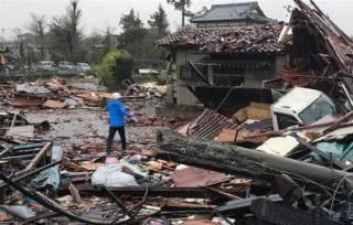 В Японии стремительно растет число жертв тайфуна «Хагибис»