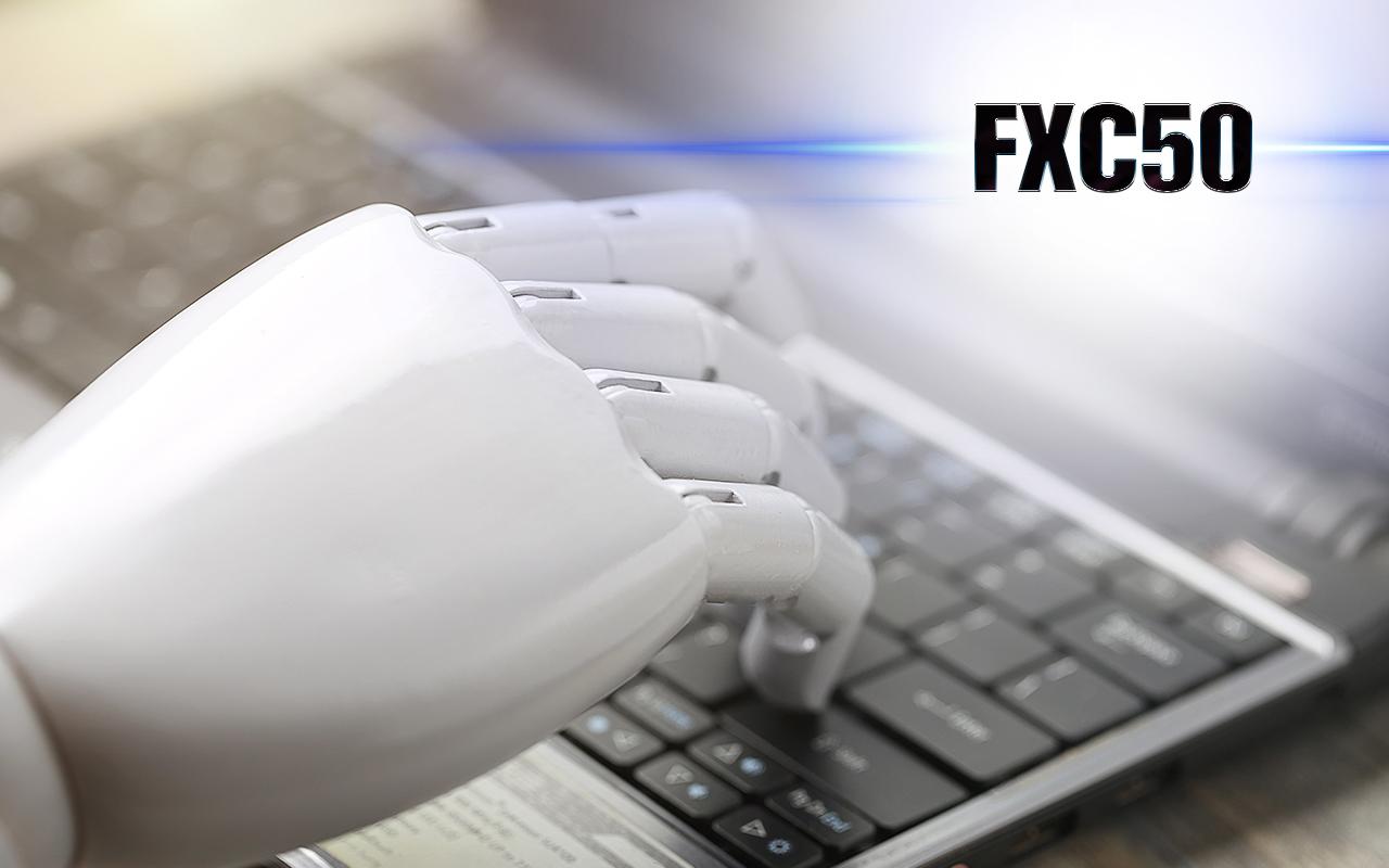 Отзывы о FXC50 подтверждают, что среднемесячный доход робота — 4-5%.
