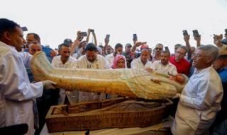 Египетские власти выставили на всеобщее обозрение уникальную находку из Луксора