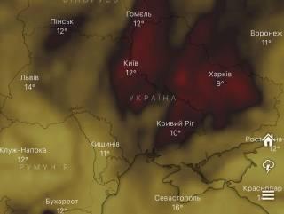 В Киеве зафиксирован аномальный уровень загрязнения воздуха крайне опасным веществом