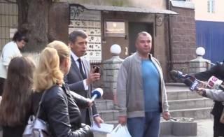Гладковский вышел на свободу, не пробыв в СИЗО и недели