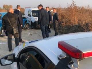 В Княжичах после ДТП расстреляли водителя легковушки