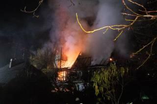 Ночью в Киеве полыхал гигантский пожар