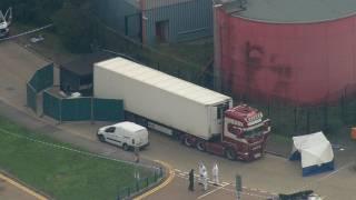 В Британии полиция обнаружила грузовик с поистине страшным грузом