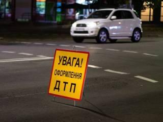 В Киеве столкнулись два такси с пассажирами
