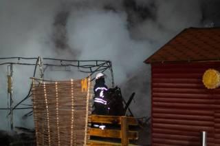 В Киеве на Гидропарке прогремел взрыв