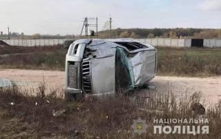 На Киевщине 14-летний парень разбил отцовский внедорожник и сам не выжил