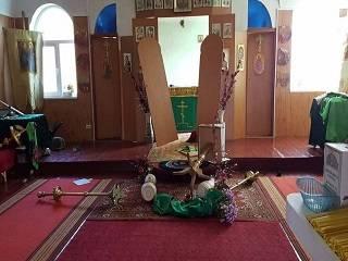 В Луганской области разгромили храм УПЦ