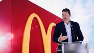 Главу McDonald`s выгнали с работы после секс-скандала