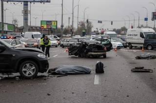 Жуткое ДТП в Киеве: погибли люди