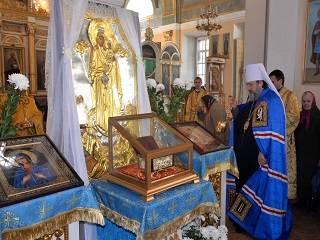 В Херсоне до 10 ноября будет пребывать Пояс Богородицы