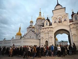 В Почаевской лавре три дня продлятся торжества в день памяти преподобного Иова
