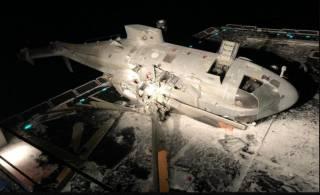 В Италии боевой вертолет упал на борт эсминца