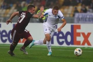 Лига Европы: «Динамо» сумело спасти очко на выезде с «Копенгагеном»