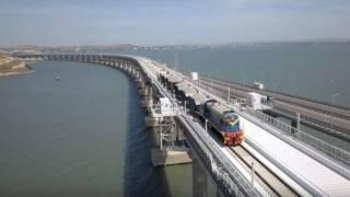 Стало известно, когда Россия пустит в аннексированный Крым первые поезда