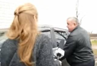В Киевской области зарвавшийся чиновник таранил журналистов машиной