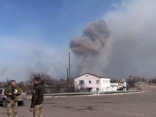 В Генштабе озвучили предварительную причину взрывов на складах в Балаклее