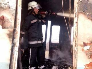 На Николаевщине прямо на ходу загорелся поезд с пассажирами