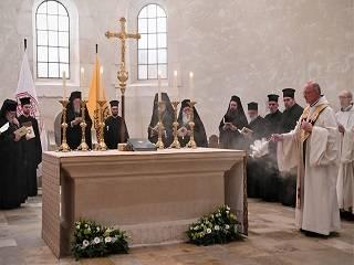 В Бельгии Варфоломей молился с католиками