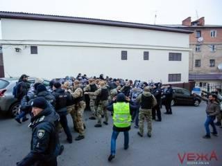 В Виннице полицейские подрались с националистами