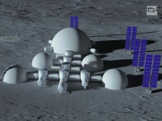 Украинские ученые сделали «первый шаг» по возведению города на Луне