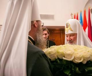 Семь Православных Церквей в Москве приняли участие в торжествах в честь 73-летия Патриарха Кирилла