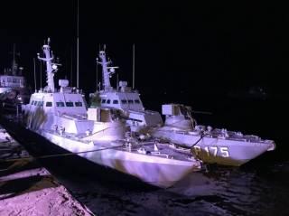 Россия вернула Украине захваченные корабли без унитазов и трусов