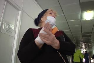В Кропивницком старушка лишилась пальца после поездки в маршрутке