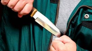 Под Киевом селянин напал с ножом на полицейского