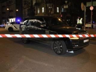 В центре Киева обстреляли внедорожник Range Rover – погиб ребенок