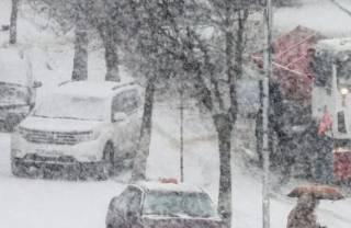Киев занесло первым снегом. Справятся ли коммунальщики?