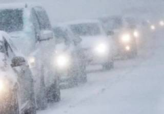 Украинцев предупредили о снегопаде и дожде