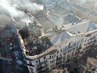 В Сети появились фотографии последствий масштабного пожара в Одессе с высоты птичьего полета