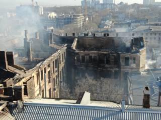 Количество жертв пожара в Одессе возросло. Спасшихся – тоже