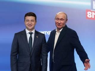 В Кремле утверждают, что Путин намерен пообщаться с Зеленским с глазу на глаз