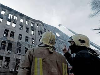 Пожар в одесском колледже: число жертв увеличилось