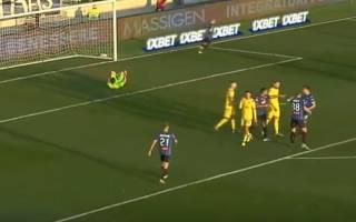 Украинец забил дебютный супергол в чемпионате Италии