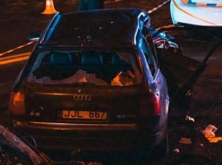 В Киеве лихач на «евробляхе» устроил сокрушительное ДТП – есть жертвы