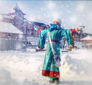 Под Киевом открывается цикл шоу «Зимняя сказка»