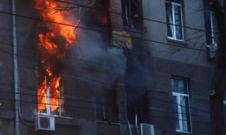Спасатели назвали окончательное число жертв пожара в одесском колледже