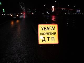 Под Киевом иномарка на скорости разорвала пешехода
