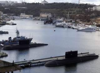 В Крыму затонула подводная лодка