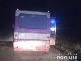 На Тернопольщине из автобуса прямо на ходу выпали двое детей